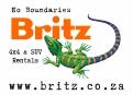 Britz 4x4 & SUV Logo WHT